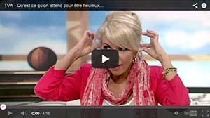 Christine Michaud sur les ondes de TVA
