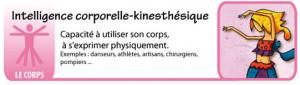 Intelligence corporelle kinesthésique - Les intelligences multiples - théorie du docteur Howard Gardner