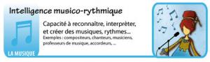 Intelligence musico - rythmique - Les intelligences multiples - théorie du docteur Howard Gardner