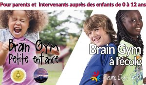 Brain Gym petite enfance et à l'école, Barby - Savoie, France