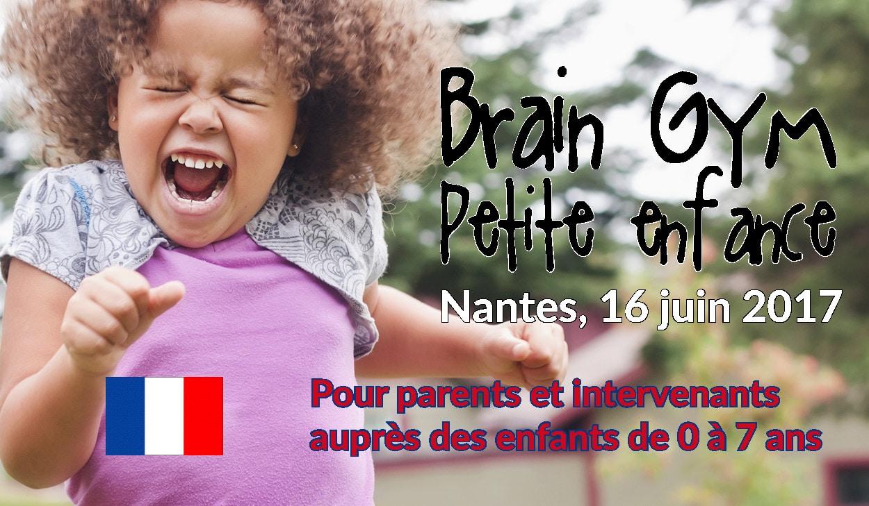 Neuro Gym Tonik offre le Brain Gym petite enfance à l'ECAP de Nantes en France !