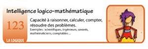 Les intelligences multiple du Dr Howard Gardner - logico - mathématique