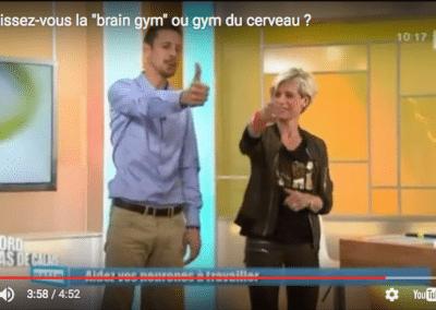 """Connaissez-vous le """"brain gym"""" ou la gymnastique du cerveau ?"""