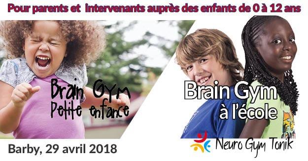 Brain Gym petite enfance école, Barby - Savoie 2018