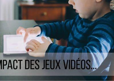 L'impact des jeux vidéos sur l'enfant…