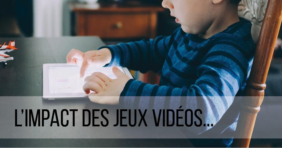 L'impact des jeux vidéos sur le comportement de l'enfant
