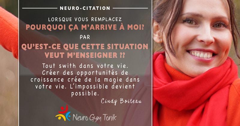 Pourquoi ça m'arrive? | Neuro-Citation