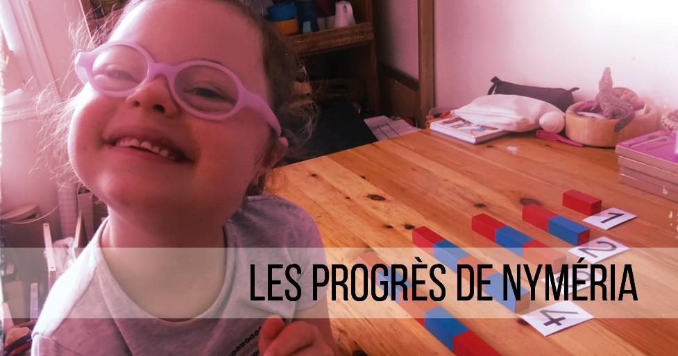 Les progrès de Nyméria – témoignage