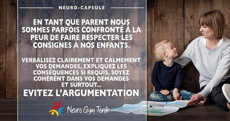 Faites des demandes claires à vos enfants  | Neuro-Citation de la semaine