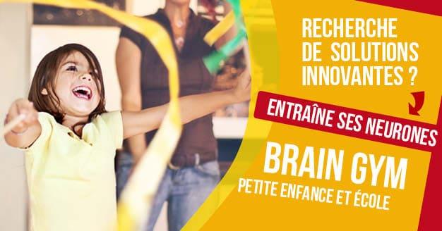 Combo Brain Gym petite enfance et école