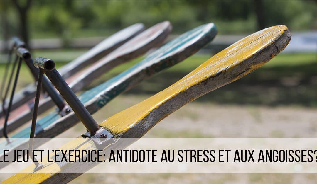 Et si l'exercice était l'antidote au stress et aux angoisses?