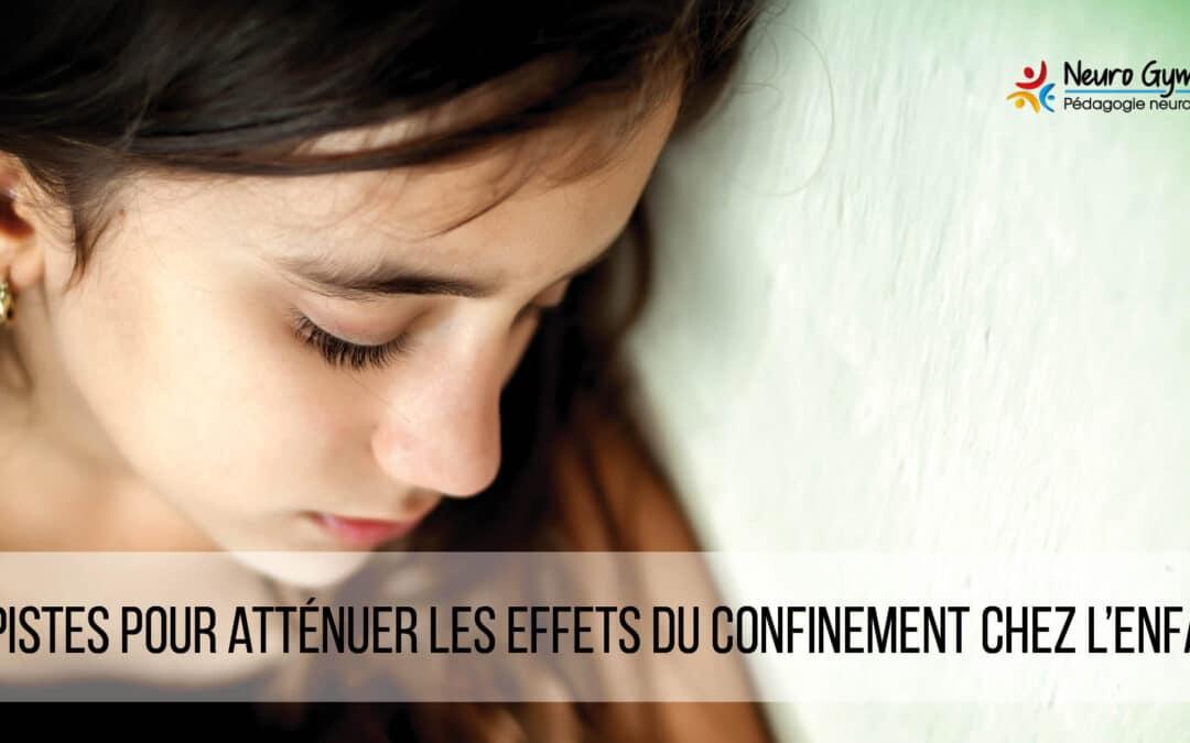 10 pistes pour atténuer les effets du confinement chez les enfants