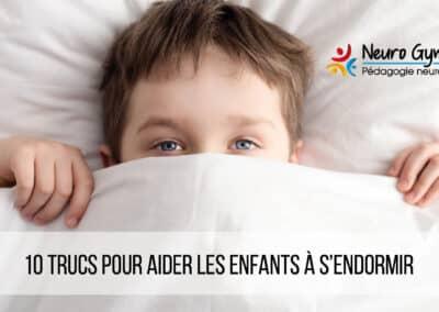 10 trucs pour aider les enfants à s'endormir